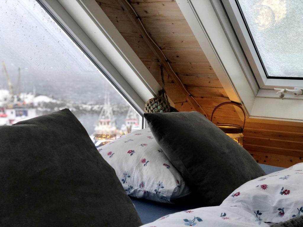 Storekorsnes Ferie og Fritid Northern Lights Cabin Nordlyshytte