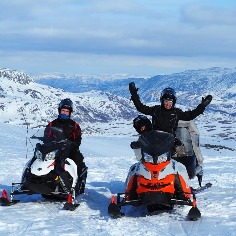 Snøscootersafari med Alta Adventure