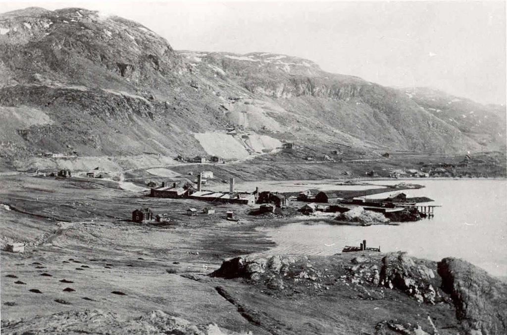 Kåfjord Kopperverk - ukjent fotograf - copyright Verdensarvsenter for bergkunst -Alta Musuem